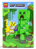 Аналог Lego 21156 BigFig — Крипер и Оцелот 11474