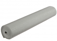 Коврик для йоги 173 × 61 × 0,4 см, цвет серый