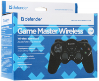 Геймпад Defender Game Master Wireless беспров., 2 дж., 10 кн., (радиус 10м) компьютерный