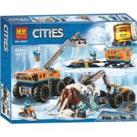 Конструктор Сити 804 дет 10997 Передвижная арктическая база