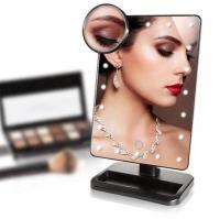 Зеркало для макияжа с подсветкой сенсорное
