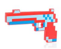 Пистолет «Пиксель», световые и звуковые эффекты, МИКС