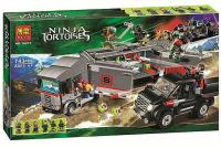 Конструктор BELA NINJA Turtles Большая снежная машина для побега 10277 (Аналог LEGO Teenage Mutant Ninja Turtles 79116) 743 дет