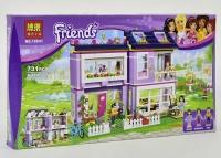 Конструктор Friends Дом Эммы 10541 (Аналог Lego Friends 41095) 731 дет