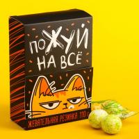 Жевательная резинка «Пожуй на все»: со вкусом яблока, 110 гр.