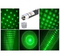 Лазерная указка с 5 насадками оптом