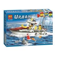 Конструктор URBAN 160 дет. Рыболовный катер