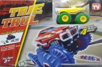 Trix Trax трек с одной машинкой, комплектом верёвки и комплектом препятствий