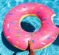 Надувной круг Пончик 120x120