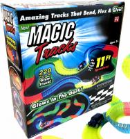 Игрушка гоночная трасса Мэджик Трек (220 деталей) широкая