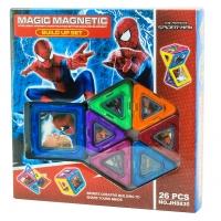 Магнитный конструктор Человек паук 26 дет