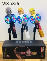 Светящийся караоке-микрофон WSTER 1816