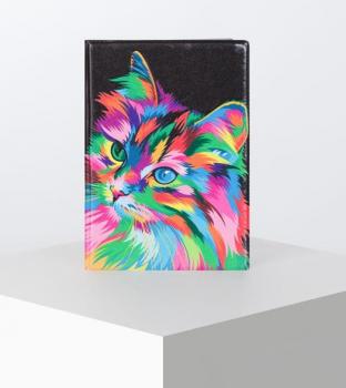 Обложка для паспорта, цвет разноцветный