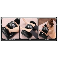 Массажер для ног с персональным режимом Foot Massage Plus FITSTUDIO (черный) блаженство