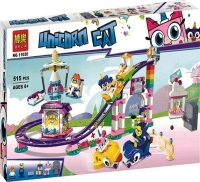 Конструктор Весёлая ярмарка Королевства 11020 аналог LEGO Unikitty 41456 Лего Юникитти