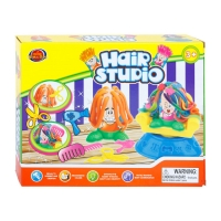 Набор для лепки Hair Studio волосы пластилин