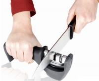 Ножеточка универсальная для черновой и финальной заточки В16 точилка ручная