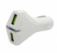 Автомобильное зарядное устройство 18w max 2 выхода YY ZDJ