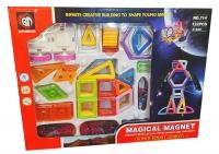 Магнитный конструктор MAGICAL MAGNET 132 дет.