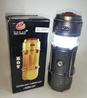 Кемпинговый светилник с диско шаром