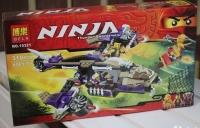 Конструктор Ninja Вертолетная атака Анакондраев 10321 (Аналог Lego Ninja 70746) 310 дет