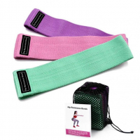 Тканевые резинки для фитнеса Luting Fit 3 шт