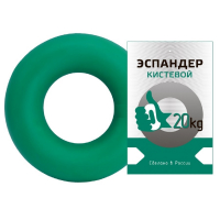 Эспандер кистевой Fortius, нагрузка 20 кг, зеленый
