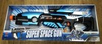 Автомат на батарейках SUPER SPACE GUN LASER PATROL 10 звуковых эффектов