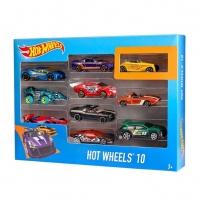 Машинки Hot Wheels 10 в 1