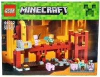 "Конструктор QS08 Minecraft 44022 ""Защитная стена Нижнего мира"" майнкрафт 360"