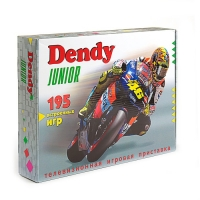 Dendy Junior 195 игр + световой пистолет