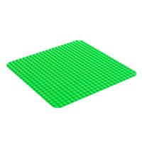 Пластина-основание для конструктора, 38,4*38,4 см, цвет зелёный 4488587