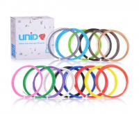 UNID Набор пластика для 3D ручек: ABS-15 (по 10м. 15 цветов)