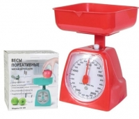 Кухонные весы механические с пластиковой чашей