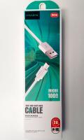Кабель USB - microUSB MIAMI M 215 1 m силиконовый