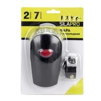 Фара велосипедная 2 режима, 7LED, пит.батар. 3xАА, 11х4х6см, пластик SILAPRO фонарь