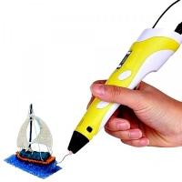 3D ручка Spider Pen LITE с ЖК дисплеем, желтая спайдер пен