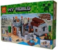 Конструктор Майнкрафт Пустынная станция. LELE Minecraft 79148 531 деталь
