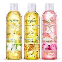 Ароматический гель для душа с натуральными лепестками и маслом цветов жасмина Bioaqua