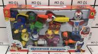 Собачки 8 героев в наборе 1106T CH 006T серия супер герои