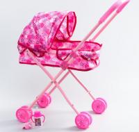Коляска для куклы прогулочная + аксессуары, феи ВИНКС: Блум, металл