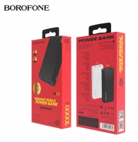 Внешний Аккумулятор Power Bank Borofone BT23 10000 mAh 2USB 2A Black