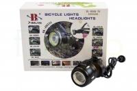 Велосипедный фонарик с креплением на руль X-Balog BL-B06B T6