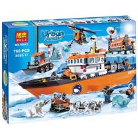 Конструктор City Арктический ледокол 10443 (Аналог Lego City 60062) 760 дет