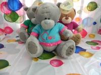 Тедди большой 25см медвежонок