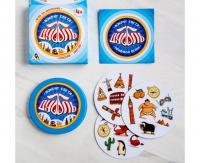 Настольная игра «Дуббль Вокруг света», 20 карт