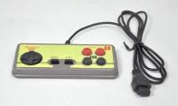 джойстик 8 бит  узкий разъем Controller Black (квадратные) 9р