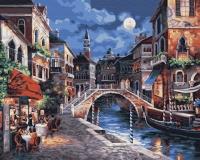 Ещё одна ночь в Венеции Картина 40х50