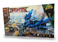 КОНСТРУКТОР САМОЛЕТ-МОЛНИЯ ДЖЕЯ 912 ДЕТ BELA 10721 (АНАЛОГ LEGO NINJAGO MOVIE 70614)