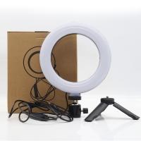 кольцевая Лампа светодиодная 16 см  для селфи настольная СТ-001 световое